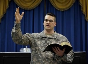 Armed services Chaplain