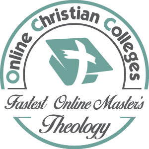 Fastest Online Master's in Theology Badge